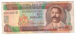 Barbados 10 Dollars 1995 - Barbados