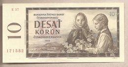 Cecoslovaccha - Banconota Non Circolata FdS Da 10 Corone - 1960 - Czechoslovakia