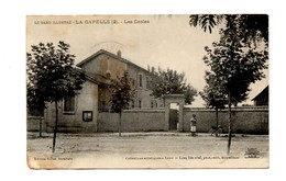 La Capelle Masmolène Les écoles Lux Lang N° 2 Edition Gilles Buraliste St Quentin La Poterie Uzes Gard - Andere Gemeenten