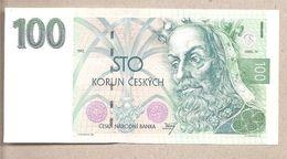 Rep. Ceca - Banconota Non Circolata FDS Da 100 Corone - 1993 - Repubblica Ceca