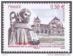 France N° 4802 ** Bernard De Clairvaux - Fontaine-lès-Dijon - France