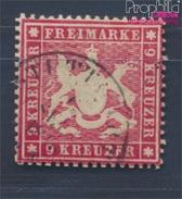Württemberg 19x Un PrUncht Oblitéré 1860 Crest (8357850 (8357850 - Wurtemberg