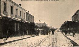 Algérie - AÏN-TEMOUCHENT - Le Boulevard National Un Jour De Neige - Algerien