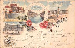 RENNES  -  Souvenir De ...  En 1899 ! (autre Vue ) - Rennes