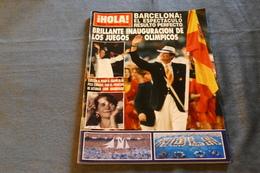 I HOLA - JEUX OLYMPIQUES DE 1992 - JOURNAL ESPAGNOL  / LK 82 - Revues & Journaux