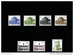 IRELAND/EIRE - 1983  IRISH ARCHITECTURE III  SET MINT NH - Nuovi