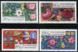 BRD - Mi 1259 / 1262 - ** Postfrisch (E) - Miniaturen, Wohlfahrt 85 - Unused Stamps