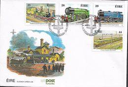 IRELAND 1984 RAILWAYS FDC UNUSED - Treinen
