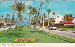 Florida Palm Beach Royal Palm Way 1974