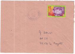 FRANCIA - France - 2001 - 0,46 € Dalida - Seul - Viaggiata Da Beaumont-Hague Per Le Fayet - Francia