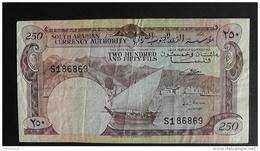 Yemen - 1965 - 250 Fils - P 1a - VF - Look Scans - Yémen