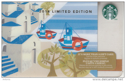 CANADA - Greek Islands, Starbucks Card, CN : 6103, Unused - Gift Cards