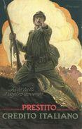 """108 - """"SOTTOSCRIZIONI AL PRESTITO DEL CREDITO ITALIANO - ILLUSTRATA DA MAUZAN"""" - Mauzan, L.A."""