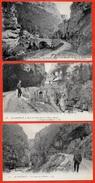 CPA 38 Gorges De La BOURNE Isère (Lot De 3) (route De Villard-de-Lans à Pont-en-Royans) - Frankreich