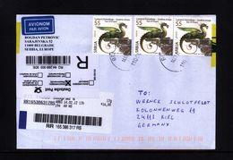 Serbia / Serbien  Year Of The Dragon Interesting Registered Letter - Astrologie
