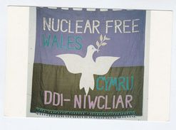 1982  'NUCLEAR FREE WALES' CAMPAIGN Postcard Atomic Energy Gb Weapons - Demonstrations