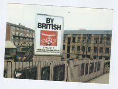 1984 ANTI NUCLEAR FALLOUT CND GRAFFITI On LYLE & SCOTT  BILLBOARD Postcard Gb Atomic Weapons Energy - Demonstrations
