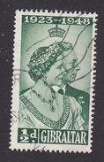 Gibraltar, Scott #121, Used, Silver Jubilee, Issued 1948 - Gibilterra