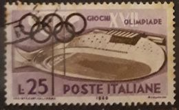 ITALIA 1960 Olympic Games - Rome, Italy. USADO - USED. - 1946-60: Gebraucht