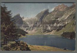 V1242 SEEALPSEE MIT ROSSMAD SANTIS HANGETEN UND ALTENALPTURMEN Appenzell Ext FP (m) - AR Appenzell Rhodes-Extérieures
