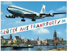 (M+S 405) Germany  - Frankfiurt With Pan American Aircraft Landing - 1946-....: Moderne