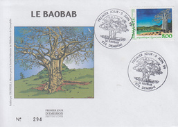 Enveloppe  FDC  1er  Jour    MAYOTTE     Le  Baobab   1999 - Mayotte (1892-2011)