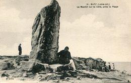 MENHIR(BATZ) - Dolmen & Menhirs