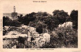 MAROC - RABAT - CHELLAH RUINES DE MOSQUEE - Rabat