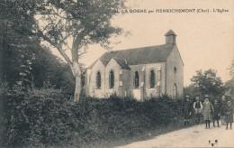 G146 - 18 - LA BORNE Par HENRICHEMONT - Cher - L'Église - Autres Communes