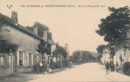 G146 - 18 - LA BORNE Par HENRICHEMONT - Cher - Rue Du Bourg D'en Haut - Autres Communes