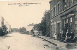 G146 - 18 - LA BORNE Par HENRICHEMONT - Cher - La Grande Rue - Autres Communes