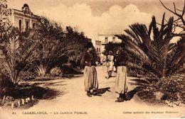 MAROC - CASABLANCA - LE JARDIN PUBLIC - Casablanca