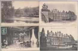 France 76 - Eu - Lot De 12 Cartes Sur Le Château   - Achat Immédiat - Eu