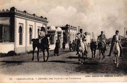 MAROC - CASABLANCA - ENTREE DES NOUVELLES CASERNES - Casablanca