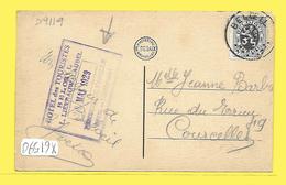 CPA BELOEIL Hôtel Des Touristes Tampon 1929 Sur Parc Du Chateau - Beloeil