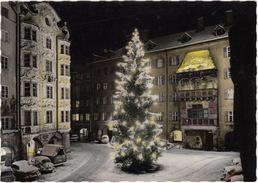 Innsbruck: OPEL KAPITÄN '53, VW 1200 KÄFER/COX & T-1 PICKUP BUS - Weihnachtsbaum / Christmas Tree / Sapin De Noël - Turismo