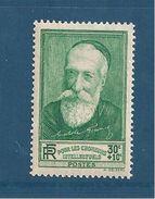 France Timbre De 1937 N°343  Neuf ** Sans Charnière - Unused Stamps