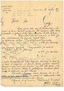 QUARONA - FATTURA SILVIO LOFFI  1914 - Vercelli