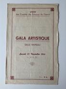 LYON SALLE RAMEAU PROGRAMME 25.11.1944 - Programmes