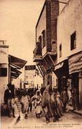 MAROC - CASABLANCA - RUE DU COMMANDANT PROVOST - Casablanca