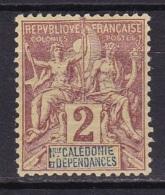 Nouvelle Calédonie N°42* - Neukaledonien