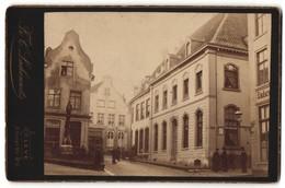 Fotografie Fr. C. Lachenwitz, Cleve, Ansicht Kleve, Strasse Mit Otto Der Schütz-Denkmal - Lugares