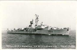 """2678- """" La BOURDONNAIS """" Escorteur D'escadre - Warships"""