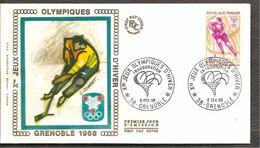 FDC 1968   Grenoble - FDC