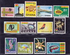 GHANA N°   41 à 53 ** MNH Neufs Sans Charnière, TB (D2333) - Ghana (1957-...)