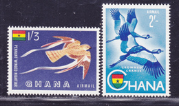 GHANA AERIENS N°    5 & 6 ** MNH Neufs Sans Charnière, TB (D2334) - Ghana (1957-...)