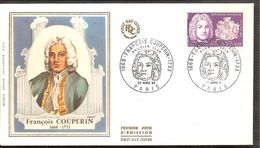 FDC 1968 COUPERIN - FDC