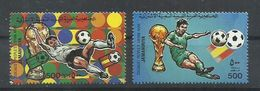 LIBIA  SERIE FUTBOL   MNH  ** - 1982 – Espagne