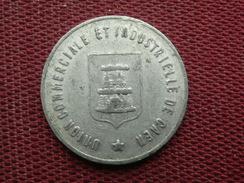FRANCE Jeton CAEN 1921 - Monedas / De Necesidad