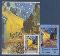 = V. Van Gogh, Café Le Soir Place Du Forum Septembre 1888, Bucarest 27.7.91 Avec Carte Téléphone - Maximumkarten (MC)